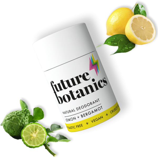 Lemon + Bergamot Natural Deodorant