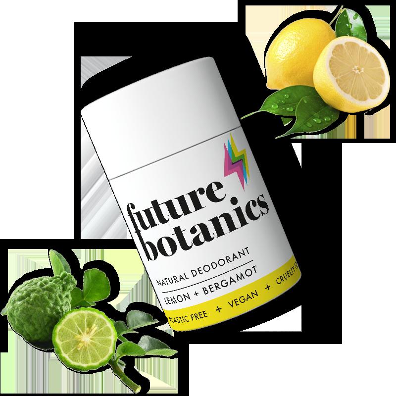 Lemon + Bergamot Natural Deodorant